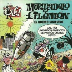 Cómics: MORTADELO Y FILEMON - EL HUERTO SINIESTRO - OLÉ RUSTICA Nº16 - 1993. Lote 113074147