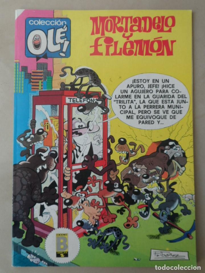 MORTADELO Y FILEMON COLECCION OLE Nº 203 - POSIBLE ENVÍO GRATIS - EDICIONES B - 1ª EDICION 1989 (Tebeos y Comics - Ediciones B - Humor)