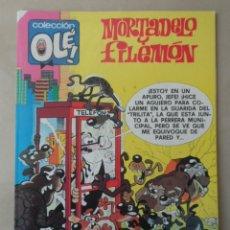 Cómics: MORTADELO Y FILEMON COLECCION OLE Nº 203 - POSIBLE ENVÍO GRATIS - EDICIONES B - 1ª EDICION 1989. Lote 113111999