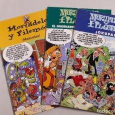 Cómics: LOTE DE 3 COMICS DE MORTADELO Y FILEMÓN. Lote 113117839