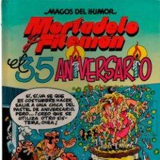 Cómics: MAGOS DEL HUMOR Nº 46 MORTADELO Y FILEMON. EL 35 ANIVERSARIO. TAPA DURA. Lote 113310051