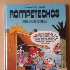 Cómics: ROMPETECHOS: COMBINADO DE RISAS. COLECCIÓN GRANDES DEL HUMOR N°5. EL PERIÓDICO, 1996. POR F. IBÁÑEZ.. Lote 113985391