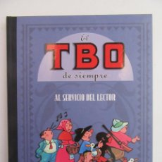 Cómics: EL TBO DE SIEMPRE - TOMO 5 - AL SERVICIO DEL LECTOR - EDICIONES B - TAPA DURA LUJO ANTOLOGIA. Lote 114206135