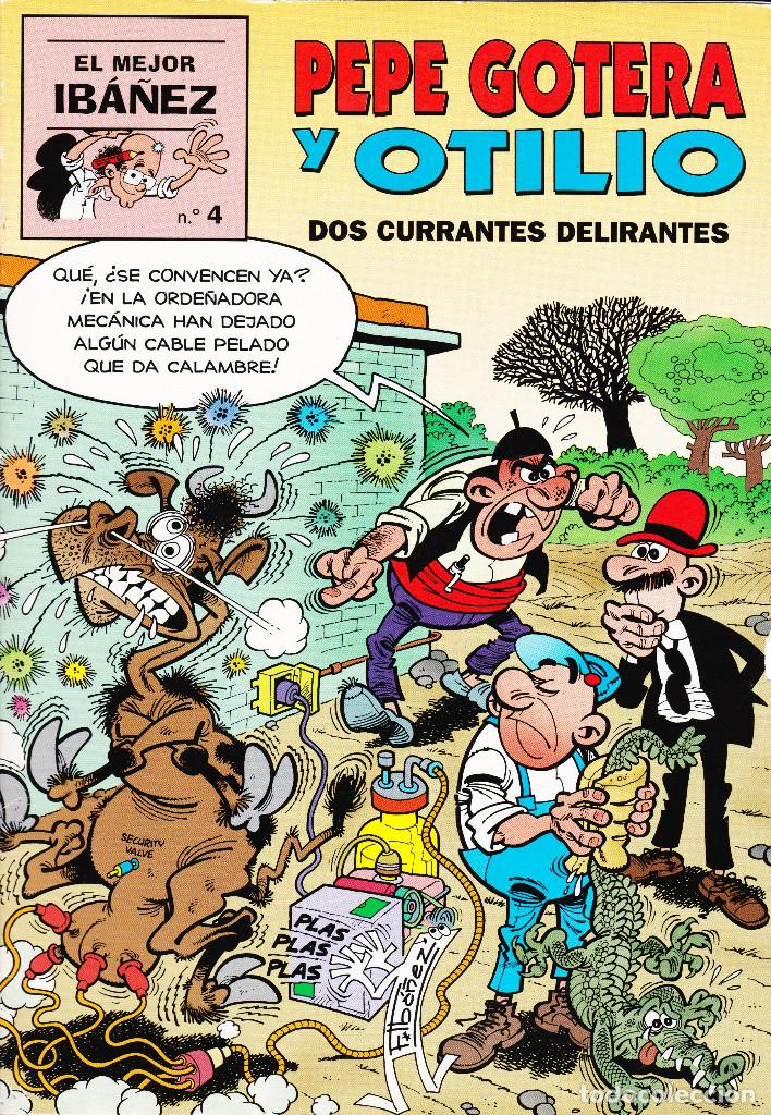 PEPE GOTERA Y OTILIO. DOS CURRANTES DELIRANTES (Tebeos y Comics - Ediciones B - Clásicos Españoles)
