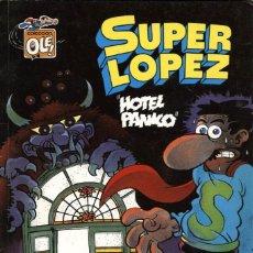 Cómics - SUPER LÓPEZ: HOTEL PÁNICO, DE JAN. COLECCIÓN OLÉ SL-19 (B, 1992) 2 EDICIÓN - 114993711
