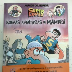Cómics: SUPERLOPEZ NUEVAS AVENTURAS DE MAMBRÚ - MAGOS DEL HUMOR 187 - JAN - EDICIONES B. Lote 115360692
