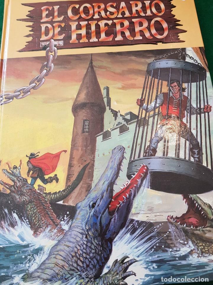 EL CORSARIO DE HIERRO - TOMO 1 - EDICIONES B (Tebeos y Comics - Ediciones B - Clásicos Españoles)