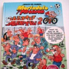 Cómics: MORTADELO Y FILEMON - MUNDIAL 2010. Lote 115712639