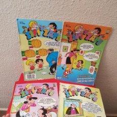 Cómics: LOTE 4 COMIC TEBEO ZIPI Y ZAPE EDICIONES B 121-117-119-191 1987. Lote 115843227