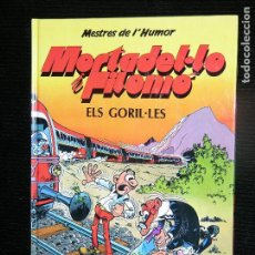Cómics: F1 COMIC MORTADELO Y FILEMO ELS GORILES AUTOR IBAÑEZ . Lote 115875527