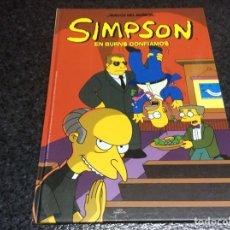Cómics: LOS SIMPSON MAGOS DEL HUMOR - SIMPSON, EN BURNS CONFIAMOS - TAPA DURA. Lote 116096631