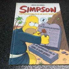 Cómics: LOS SIMPSON MAGOS DEL HUMOR - SIMPSON, HISTORIAS BÍBLICAS DE BART SIMPSON MATT GROENING - TAPA DURA. Lote 116097075