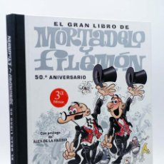 Cómics: EL GRAN LIBRO DE MORTADELO Y FILEMÓN 50 ANIVERSARIO INCLUYE DVD (F. IBÁÑEZ) B, 2007. OFRT. Lote 206827262