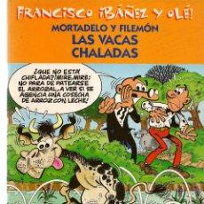 Cómics: FRANCISCO IBAÑEZ Y OLÉ. MORTADELO Y FILEMÓN. LAS VACAS CHALADAS. 2001. (ST/). Lote 116557775