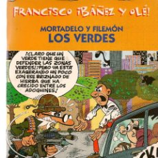 Cómics: FRANCISCO IBAÑEZ Y OLÉ. MORTADELO Y FILEMÓN. LOS VERDES. 2001. (ST/). Lote 116557927