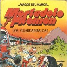 Cómics: MAGOS DEL HUMOR - Nº 24 - MORTADELO Y FILEMÓN - LOS GUARDAESPALDAS - F. IBÁÑEZ - EDICIONES B. 1990. . Lote 116824051