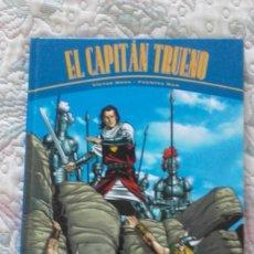 Cómics: EL CAPITAN TRUENO, DE VICTOR MORA Y FUENTES MAN: INCLUYE LA HORDA DE AKBAR Y LAS RUINAS DE TINTAGEL. Lote 116845283