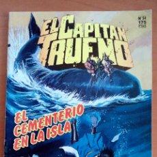 Cómics: EL CAPITÁN TRUENO N°54.. Lote 117002467
