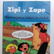 Cómics: ZIPI Y ZAPE. MANTENGAMOS LIMPIA LA CIUDAD - EDICIONES B. 2003. Lote 117011767