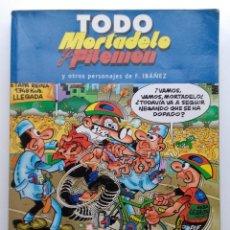 Cómics: TODO MORTADELO Y FILEMÓN Y OTROS PERSONAJES DE F. IBAÑEZ - VOLUMEN Nº 5. Lote 117013031