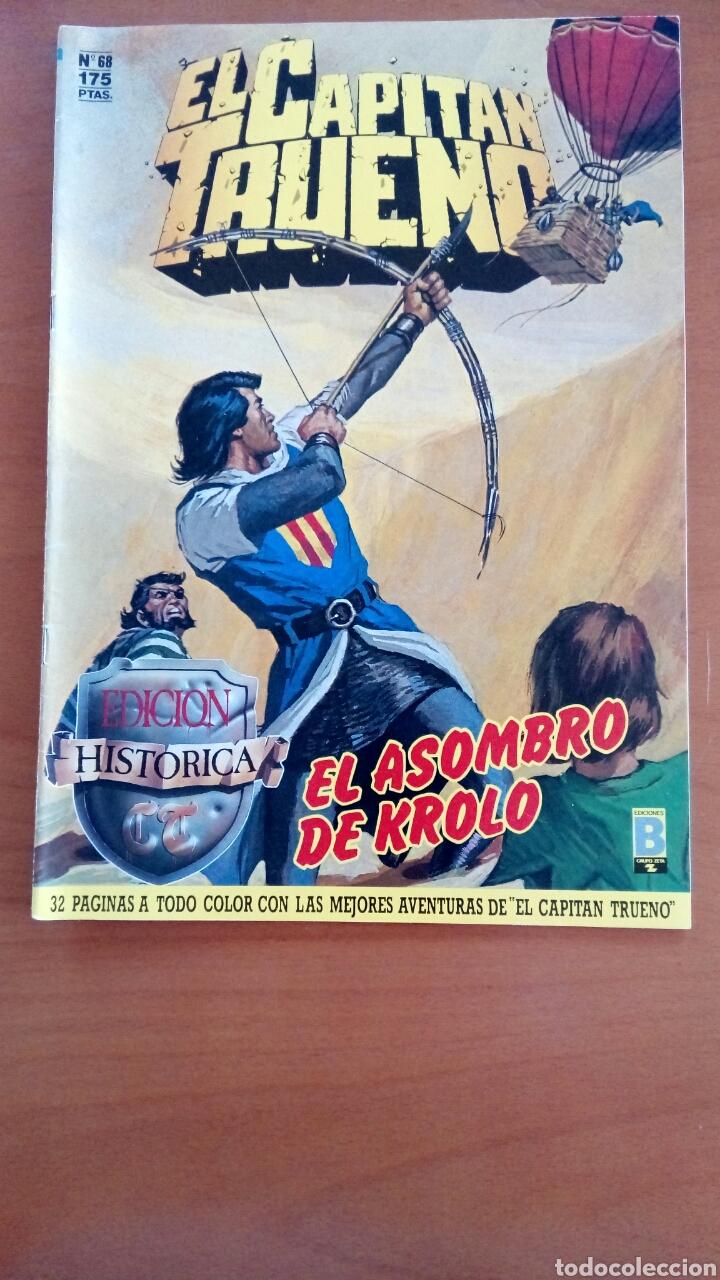 EL CAPITÁN TRUENO N°68 (Tebeos y Comics - Ediciones B - Clásicos Españoles)