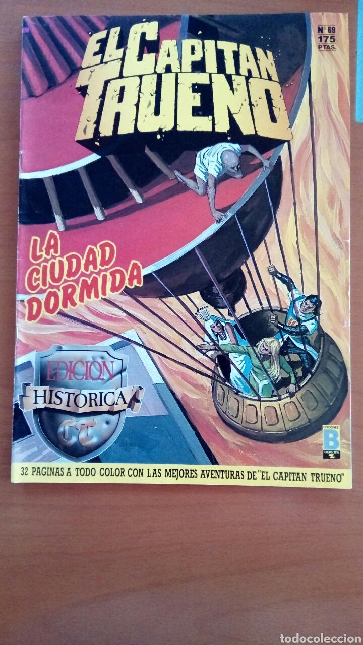 EL CAPITÁN TRUENO N°69 (Tebeos y Comics - Ediciones B - Clásicos Españoles)