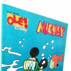 Cómics: OLE DISNEY 23 MICKEY *** MISTERIO EN EL LAGO DE LOS CASTORES. Lote 117213515