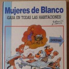 Cómics: MUJERES DE BLANCO N°2: ¡GASA EN TODAS LAS HABITACIONES, DE BERCOVICI Y CAUVIN. DRAGÓN CÓMICS, 1990. Lote 117281900
