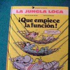 Cómics: LA JUNGLA LOCA Nº 2 QUE ENPIEZE LA FUNCION EDICIONES B. Lote 117519283