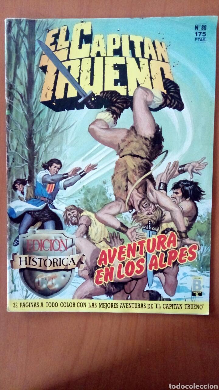 EL CAPITÁN TRUENO N°80 (Tebeos y Comics - Ediciones B - Clásicos Españoles)