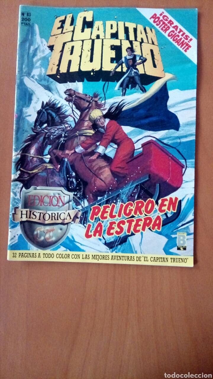 EL CAPITÁN TRUENO N°83. (Tebeos y Comics - Ediciones B - Clásicos Españoles)