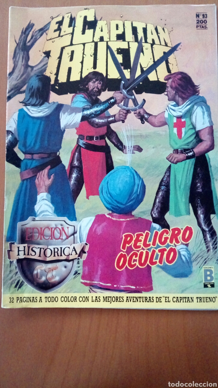 EL CAPITÁN TRUENO N°93 (Tebeos y Comics - Ediciones B - Clásicos Españoles)