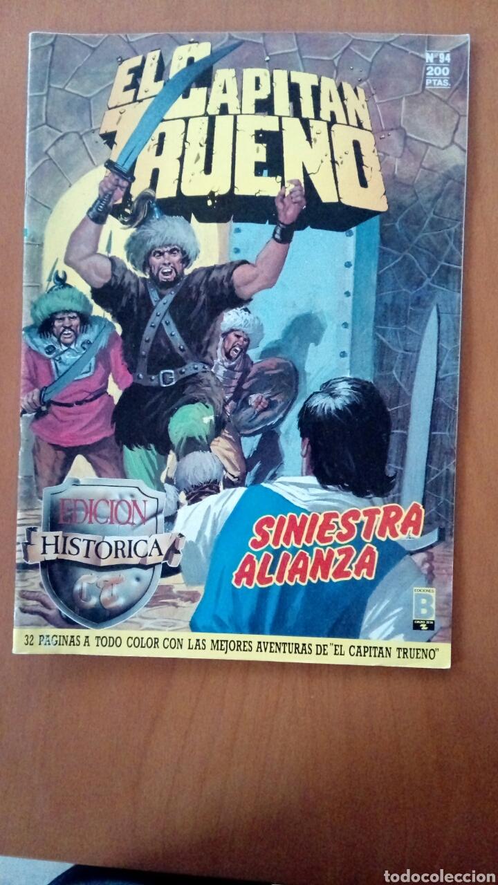 EL CAPITÁN TRUENO N°94 (Tebeos y Comics - Ediciones B - Clásicos Españoles)