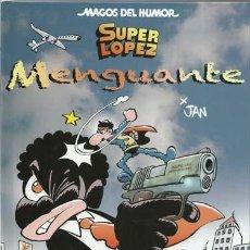 Comics - Magos del humor, super lopez 186:Menguante,2017, Ediciones B, impecable - 117792495