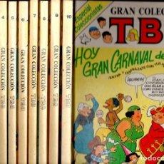 Cómics: GRAN COLECCIÓN TBO ESPECIAL COLECCIONISTAS - 10 TOMOS, NÚMERO 1 A 40 . Lote 117985975