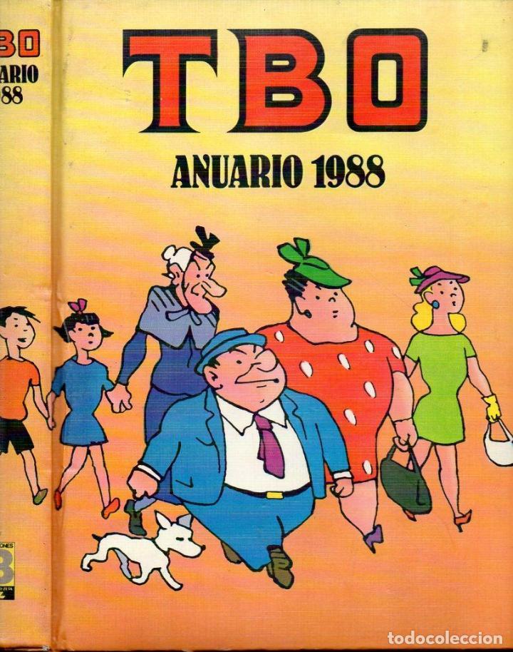 TBO ANUARIO 1988 NÚMS. 1 A 11 (Tebeos y Comics - Ediciones B - Clásicos Españoles)
