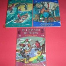Cómics: EL CORSARIO DE HIERRO COLECCIÓN FANS ED. B Nº 1-2-3 .64 PÁG. ABSOLUTAMENTE NUEVOS ENVIO GRATIS . Lote 118133003