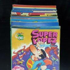 Cómics: SUPER LÓPEZ DEL N°1 AL 21. Lote 118180054