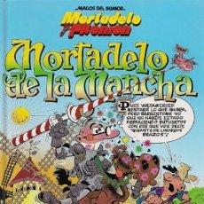 Comics : MAGOS DEL HUMOR Nº 103 MORTADELO DE LA MANCHA 1ª EDICION - ED B - TAPA DURA - IMPECABLE - C17. Lote 118365231