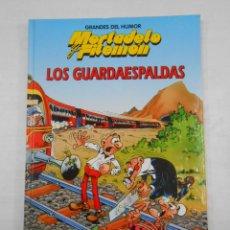 Cómics: GRANDES DEL HUMOR Nº 5. MORTADELO Y FILEMON. LOS GUARDAESPALDAS. TDKC34. Lote 118381375