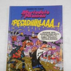 Cómics: GRANDES DEL HUMOR Nº 2. MORTADELO Y FILEMON. PESADILLAS. TDKC34. Lote 118384003