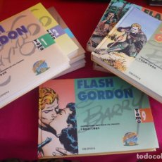Cómics: FLASH GORDON TOMOS 1 AL 9 ¡COMPLETA! ( RAYMOND BARRY ) ¡MUY BUEN ESTADO! EDICIONES B TAPA DURA. Lote 118620407