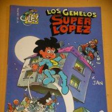 Comics : OLÉ! SUPER LOPEZ Nº 26, LOS GEMELOS, EDICIONES B, SUPERLOPEZ, ERCOM. Lote 118663863