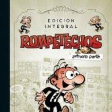 Cómics: CÓMICS. ROMPETECHOS. EDICIÓN INTEGRAL. PRIMERA PARTE - FRANCISCO IBÁÑEZ (CARTONÉ). Lote 277655428