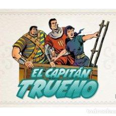 Cómics: CÓMICS. EL CAPITAN TRUENO FACSIMIL 12 - VÍCTOR AMBRÓS MORA (CARTONÉ). Lote 118670671