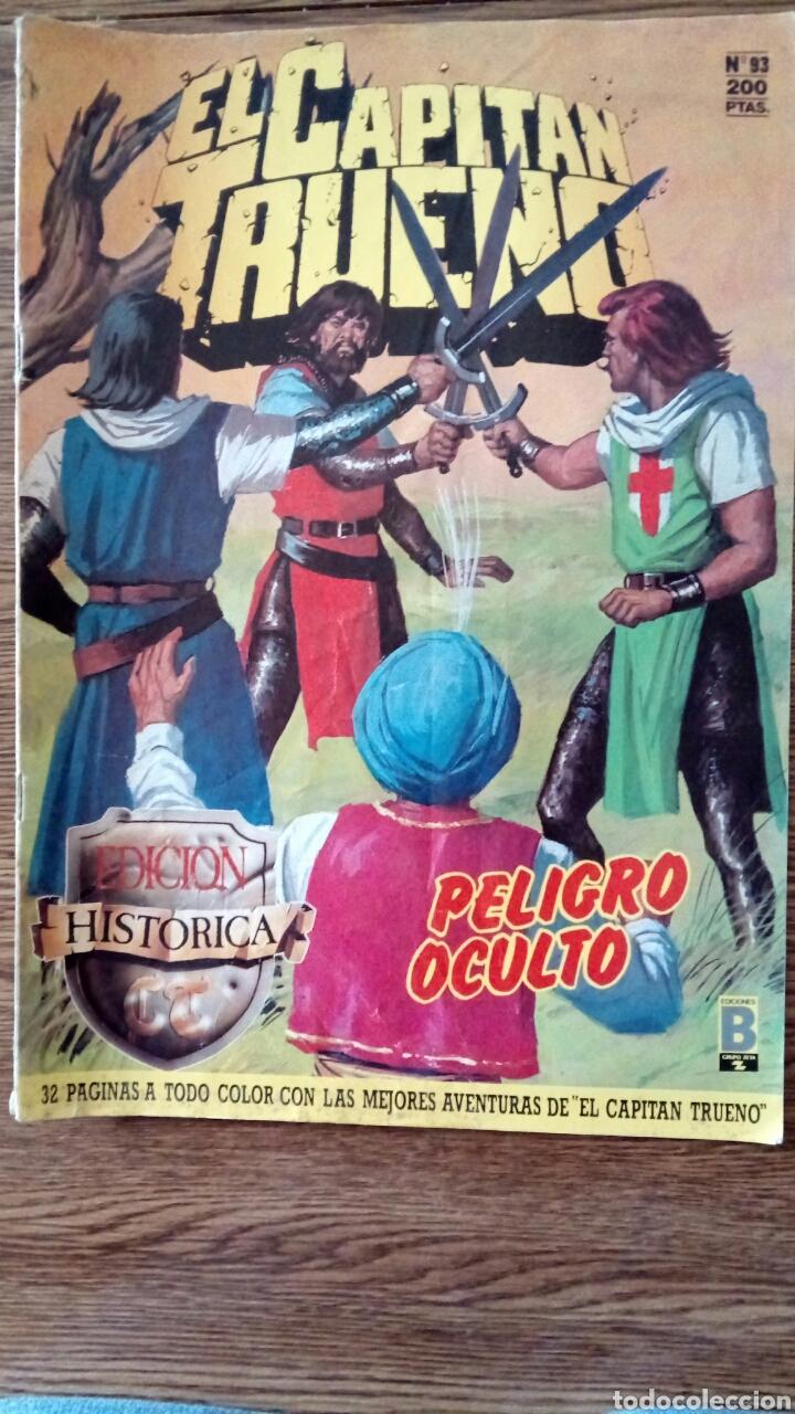 EL CAPITÁN TRUENO N°93. (Tebeos y Comics - Ediciones B - Clásicos Españoles)