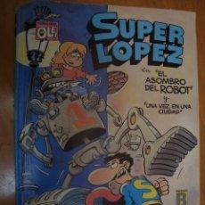 Cómics: SUPER LOPEZ Nº 14 COLECCION OLE 1ª EDICION SEPTIEMBRE 1989. Lote 119148339