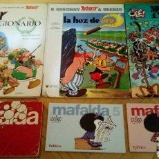 Cómics: VARIOS MAFALDA ASTERIX MORTADELO 172 PROHIBIDO FUMAR. Lote 119255447