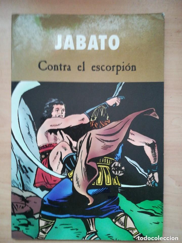 JABATO CONTRA EL ESCORPION - EDICIONES B - C25 - OFM15 (Tebeos y Comics - Ediciones B - Clásicos Españoles)