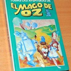 Cómics: TODAS LAS AVENTURAS DE EL MAGO DE OZ - EDICIONES B - TOMO RETAPADO DE 10 TEBEOS - AÑO 1988. Lote 119860923